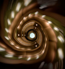 Modern spiral staircaise by Jarek Blaminsky