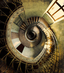 Vintage spiral staircase by Jarek Blaminsky