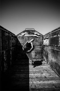 Dance Photography - B.A.D. Train Cemetery 20 von bornadancer
