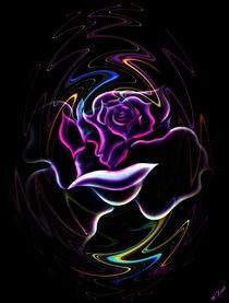 Art Deko Rose  von Walter Zettl