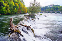 Rheinfall von Schaffhausen by Sabine Radtke