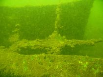 Ship wreck in lake Schwerin (MV/Germany) I by Christopher Jöst