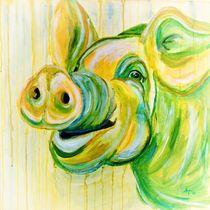Das Schwein Hugo by Annett Tropschug