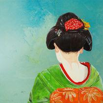 Die Geisha von Annett Tropschug