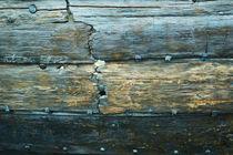 Planken eines Wikingerschiffs von Sabine Radtke