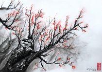Red Sakura by Rodrigo Chaem