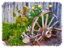 Garden Wheel von Stephen Lawrence Mitchell