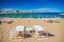 Barcelona beach. by Juan Bautista