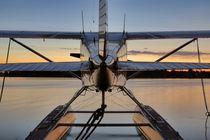 Midsummer Flight, Flugzeug by Gero Höpner