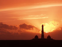Sonnenuntergang Westerhever by Peter Rohde