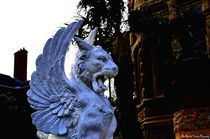 Winged Lion statue by Dan Richards