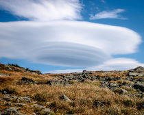 Lenticular Cloud Over Mount Washington by Jim DeLillo