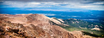 Pikes Peak Panorama von Jim DeLillo
