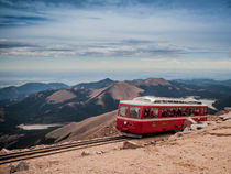 Pikes Peak Cog railway by Jim DeLillo