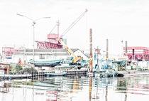Schager Hafen by Vera Kämpfe