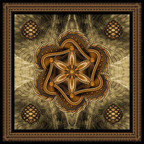 The Flower of Life Sepia von Ralf Schuetz