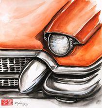 Red Cadillac by Rodrigo Chaem