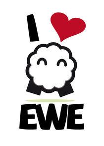 I luv EWE by Raphael Mahon