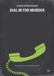 No328 My Dial M for Murder minimal movie poster by chungkong