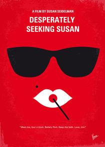 No336 My desperately seeking susan minimal movie poster von chungkong