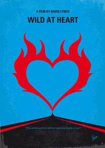 No337 My WILD AT HEART minimal movie poster von chungkong