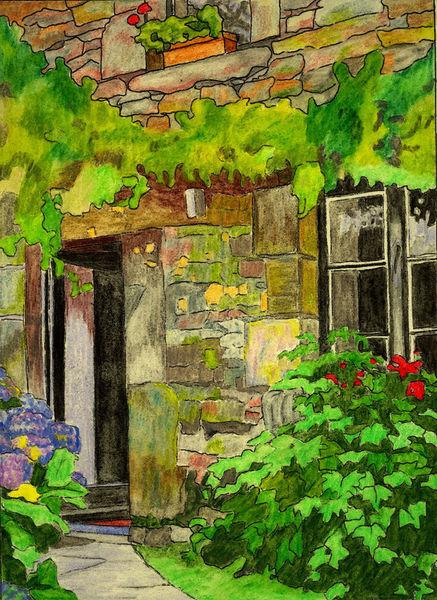County-door