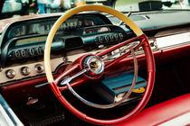 1960 Desoto Fireflite Coupe Steering Wheel And Dash von Jon Woodhams
