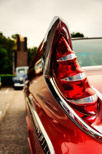 1960 Desoto Fireflite Coupe Tailfin von Jon Woodhams