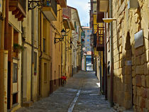 Narrow Streets of Getaria, Basque Country von Louise Heusinkveld
