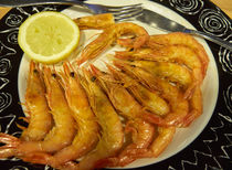 Sauteed Scampi by Louise Heusinkveld
