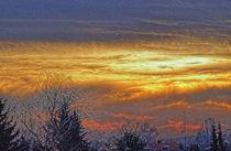 Sunset Impressionist von Helmut Schneller