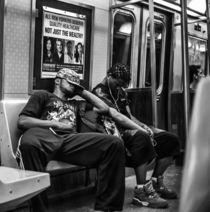 new york subway by Joseph Borsi