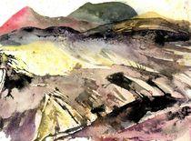 Vulkanlandschaft, La Palma, 2013 von Eva Pötzelsberger