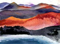 Vulkanglühen, La Palma, 2013 von Eva Pötzelsberger