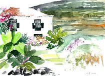 Kanarisches Landhaus, La Palma, 2013 von Eva Pötzelsberger