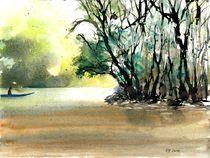 Kinabatangan River, Borneo, 2014 by Eva Pötzelsberger