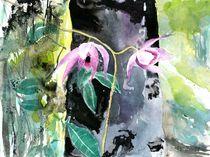 Orchidee pink, Borneo, 2014 by Eva Pötzelsberger
