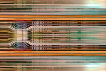 Retro Stripes 1 von Steve Ball