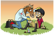 Horse therapy by William Rossin