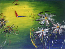 flower clock - viertel vor halb zwölf ;) von Isabell Tausche