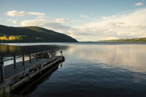 Loch Ness pier  by Rob Hawkins
