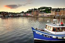 Dusk at Oban Harbour  by Rob Hawkins