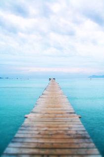 Steg am Meer - Focus Blur von Tobias Pfau
