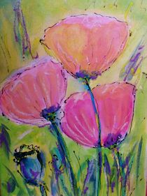 Poppies by Ingrid  Becker