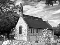 English Country church von Robert Gipson