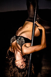Dance Photography - B.A.D. Pole Dancing in a Quarry 06 by bornadancer