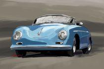 Porsche 356 Speedster Fineart von rdesign