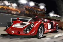 Alfa Tipo 33 Le Mans by rdesign