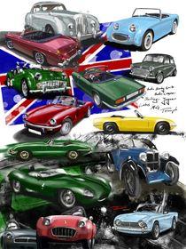 British Sports Cars von rdesign