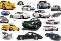 Porsche 911 History by rdesign